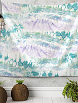 cheap -Pad Dyeing Abstract Illustration Tapestry Wall Hanging Tapestries Wall Blanket Wall Art Wall Decor Landscape Painting Tapestry Wall Decor