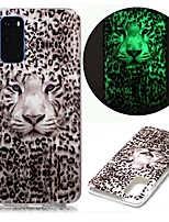 cheap -Case For Samsung Galaxy S9 / S9 Plus / S8 Plus Glow in the Dark / Pattern Back Cover Animal TPU