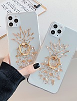 cheap -Case For Apple iPhone 11 / iPhone 11 Pro / iPhone 11 Pro Max Translucent / Pattern Back Cover Food / Transparent TPU