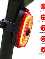 cheap -bike tail light usb rechargeable, seven colors cycle flash bicycle rear light bicycle accessories, 60 hours runtime, ipx5 waterproof cycling safety light for any road bike
