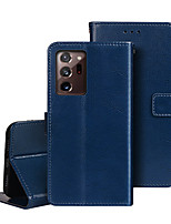 cheap -Case For Samsung Galaxy Galaxy M10(2019) M20(2019) M30(2019) M11 M21 M31 M10S M30S Wallet Card Holder Full Body Cases Solid Colored PU Leather