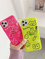 cheap -Case For Apple iphone 11/11pro/11proMax/x/XS/XR/XSMax/8p/8/7P/7/SE(2020)Cover TPU Cartoon iphone case