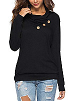 cheap -long sleeve pullover sweatshirts with sayings be kind print hoodies for women