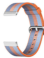 cheap -Watch Band for TicWatch Pro / TicWatch S2 / TicWatch E2 TicWatch Sport Band / Classic Buckle Stainless Steel / Nylon Wrist Strap