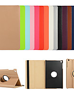 cheap -Case For Samsung GalaxyTab A 10.1 2016 T580T585 A 6 10.1 P580P585 A2 10.5 T590 S4 10.5 S6 S5e with Stand Flip Full Body Cases Solid Colored PU Leather TPU 360 Degree Rotating Protective Stand Cover