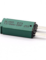 cheap -Manually resettable 6A small fuses 12/24V automotive fuses