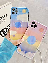 cheap -Case For iPhone 7 8 7plus 8plus X XR XS XSMax SE(2020) iPhone 11 11Pro 11ProMax Shockproof Pattern Back Cover Word Phrase Heart Scenery TPU