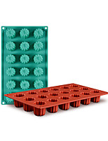 cheap -1pc Cake Molds Holiday Silicone Cake Molds Everyday Use Cake With 18 Holes