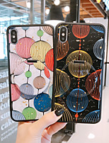 cheap -Case For APPLE  iPhone 6 7 8 6plus 7plus 8plus  XR XS XSMAX  X 11 11Pro 11ProMax with Stand Pattern Lantern Back Cover Glitter Shine TPU