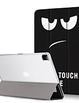 cheap -Case For Apple iPad Mini 4 iPad Mini 5 Flip Translucent Full Body Cases Butterfly  sky Flower PU Leather PC