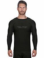 cheap -new item full long sleeve compression, mma, bjj, no gi, cross training rash guard, x-large, black