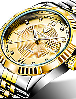 cheap -Tevise Men's Mechanical Watch Automatic self-winding Modern Style Stylish Casual Water Resistant / Waterproof Analog Black / Silver Black+Gloden Golden+Silver / Stainless Steel / Stainless Steel