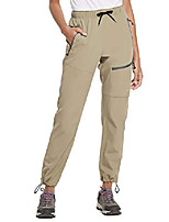 cheap -Hiking Pants Trousers Outdoor Breathable Quick Dry Sweat-wicking Wear Resistance Cargo Pants Bottoms Black khaki Camping / Hiking Hunting Fishing 36 28 29 30 31