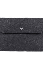 cheap -13.3 Inch Laptop / 14 Inch Laptop / 15.6 Inch Laptop Sleeve / Satchel / Tablet Cases PU Leather Solid Colored / Plain for Men for Women for Business Office Shock Proof
