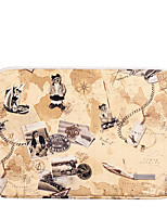 cheap -11.6 Inch Laptop / 12 Inch Laptop / 13.3 Inch Laptop Sleeve PU Leather / PU Leather / Polyurethane Leather Map / Vintage Unisex Shock Proof