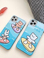 cheap -Case For Apple iPhone 7 7P iPhone 8 8P iPhone X iPhone XS XR XS max iPhone 11 11 Pro 11 Pro Max iPhoneSE (2020) Pattern Back Cover Word  Phrase Cartoon TPU