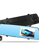 cheap -New Style 4.5-Inch Rearview Mirror Tachograph High-definition Night Vision Front And Back Dual Lens Reversing Video