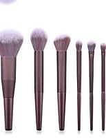 cheap -Professional Makeup Brushes 7pcs Professional Soft Full Coverage Comfy Wooden / Bamboo for Eyeliner Brush Makeup Brush Eyeshadow Brush