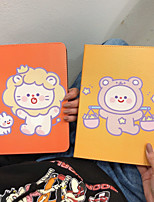 cheap -Case For Apple iPad  Mini 3 2 1 iPad Mini 4 iPad Mini 5 with Stand Flip Full Body Cases PU Leather TPU Protective Stand Cover Pattern cute lovely rabbit sheep lion