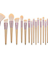 cheap -Professional Makeup Brushes 18pcs Professional Soft Full Coverage Comfy Wooden / Bamboo for Eyeliner Brush Blush Brush Foundation Brush Makeup Brush Lip Brush Lash Brush Eyebrow Brush Eyeshadow Brush
