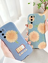 cheap -Case For Huawei P30 P30 Pro P40 P40Pro Mate 30 30Pro Shockproof Pattern Back Cover Word Phrase Cartoon Flower TPU