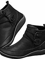 cheap -ankle booties boots hessimy women& #39;s arch support boots with side zipper ankle boots leather comfortable damping shoes platform wedge booties