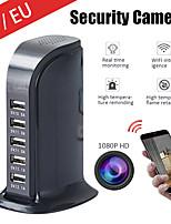 cheap -Spy Camera Wireless Hidden Camera 1080P HD WiFi USB Charger Camera 5 Port Plug Security Camera Security Surveillance Camera