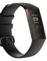 cheap -Texture Strap for Fitbit Charge 3 / Fitbit Charge 4 Silica Stra Strap Silica Strap Replacement Wrist Belt Sports Smart Watch Band