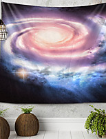 cheap -Starry Sky Vortex Tapestry Wall Hanging Tapestries Wall Blanket Wall Art Wall Decor Landscape Painting Tapestry Wall Decor