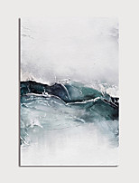 cheap -Oil Painting Paint Handmade Abstract Canvas Art Modern Art with Stretcher Ready to Hang With Stretched Frame