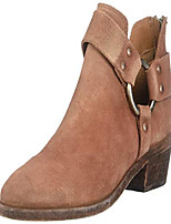 cheap -women& #39;s ray harness back zip ankle boot, rosewood, 5.5 medium us
