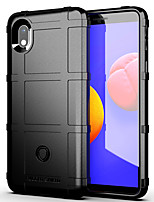 cheap -Case For Samsung Galaxy Galaxy A7 A81 M60S A8S A9 A9S A90 5G A91 M80S S10 Lite Galaxy A20E A10E A40 A60 M40 M20  Shockproof Back Cover Solid Colored PC