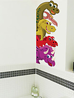 cheap -Animal Wall Stickers Decorative Wall Stickers, PVC Home Decoration Wall Decal Wall Decoration / Removable