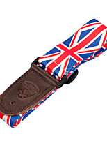 cheap -NAOMI 1PC Electric Guitar Strap with PU Leather Ends Adjustable Shoulder Strap