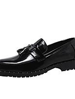 cheap -Men's Summer Daily Loafers & Slip-Ons Microfiber White / Black