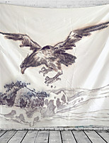 cheap -Chinese Painting Sea Eagle Tapestry Wall Hanging Tapestries Wall Blanket Wall Art Wall Decor Landscape Painting Tapestry Wall Decor