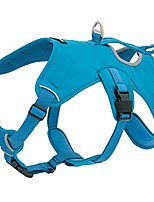 cheap -voyager padded & breathable control dog walking harness for big/active dogs, (turquoise, medium)