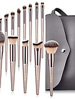 cheap -Professional Makeup Brushes 14pcs Full Coverage Wooden / Bamboo for Makeup Brush Set