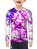 cheap -Kids Boys' Active Basic 3D Print Long Sleeve Blouse Blushing Pink