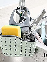 cheap -holder hang basket for sink caddy sponge scrubber dish brush kitchen accessories storage basket
