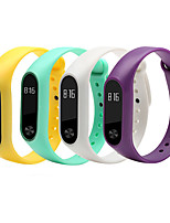 cheap -Watch Band for Xiaomi mi Watch Xiaomi Sport Band Silicone Wrist Strap