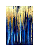 cheap -Large wall painting on canvas vertial 100% Hand painted abstract art decorative pictures for living room wall lienzos cuadros decorative golden Rolled Without Frame