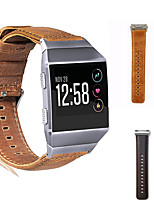 cheap -Leather Watch Band for Fitbit Ionic Replaceable Bracelet Wrist Strap Wristband