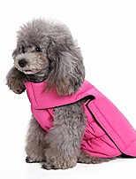 cheap -dog jackets for winter windproof waterproof cozy dog coat for cold weather warm apparel clothes puppy dog vest for small medium large dogs (xx-large, pink)