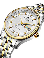 cheap -Men's Mechanical Watch Automatic self-winding Formal Style Modern Style Casual Water Resistant / Waterproof Analog - Digital White+Golden Black / White / Stainless Steel / Stainless Steel / Japanese