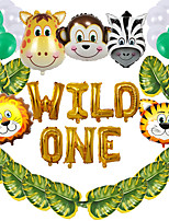 cheap -Party Balloons 38 pcs Wild Animals Party Supplies Latex Balloons Boys and Girls Party Birthday Decoration 12-16inch for Party Favors Supplies or Home Decoration
