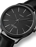 cheap -YAZOLE Men's Sport Watch Quartz Sporty Stylish Casual Water Resistant / Waterproof Analog Black / Silver Black Brown / PU Leather