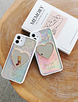 cheap -Case For Apple iPhone 7 7P iPhone 8 8P iPhone X iPhone XS XR XS max iPhone 11 11 Pro 11 Pro Max iPhoneSE (2020) Mirror  Pattern Back Cover Word  Phrase  Heart TPU  PC