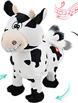cheap -Electric Toys Stuffed Animal Plush Toy Cow Gift Singing Dancing Interactive PP Plush Imaginative Play, Stocking, Great Birthday Gifts Party Favor Supplies Boys and Girls Kid's Adults