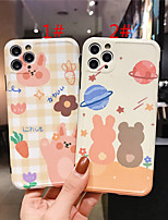 cheap -Case For Apple scene map iPhone 11 11 Pro 11 Pro Max photo frame private model series cartoon pattern TPU material IMD craft fine hole glossy phone case